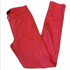 Calvin Klein Pink Skinny High Rise Coloured Jeans